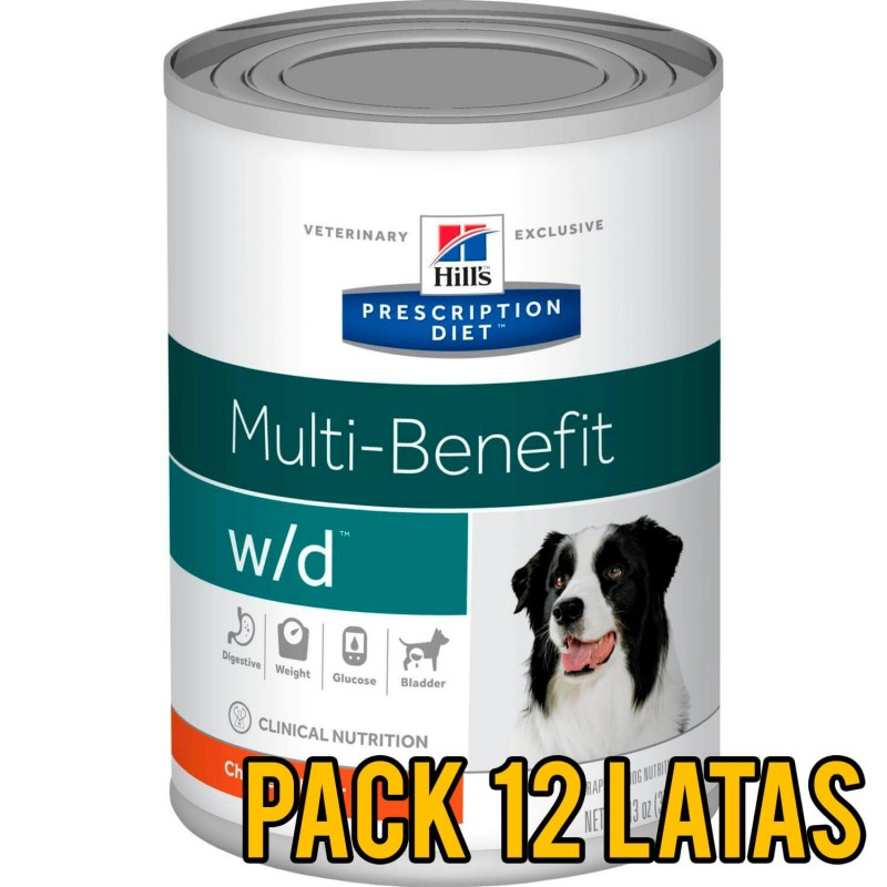 Pack 12 latas Hills w/d Multi-Benefit canino