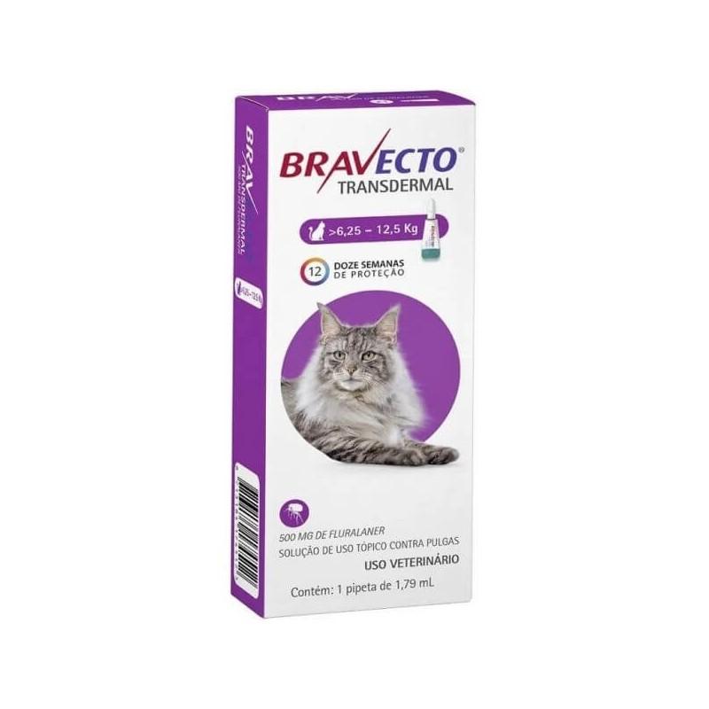 Bravecto Gatos Pipeta 6,25 a 12,5kg