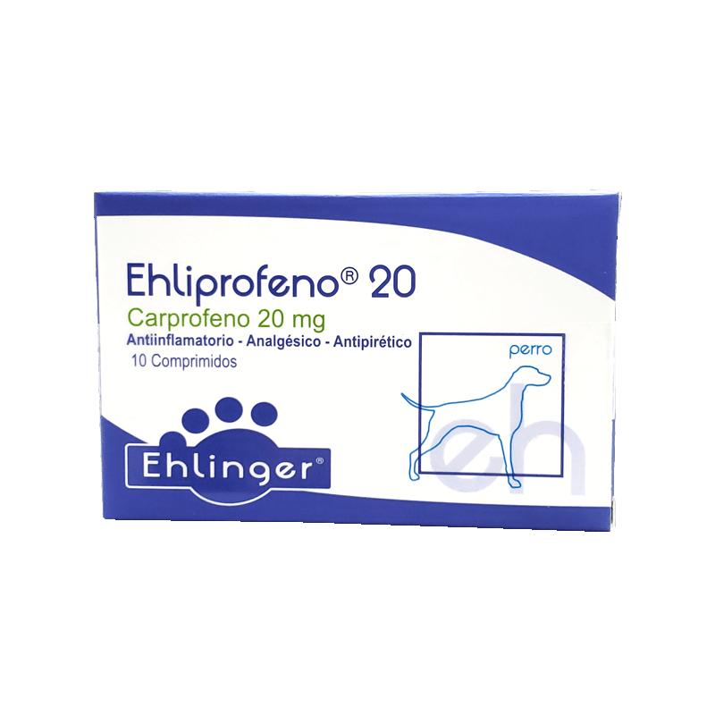 Ehliprofeno 20mg - 10 Comprimidos
