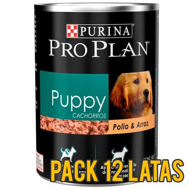 Pack 12 Latas ProPlan Puppy Canino