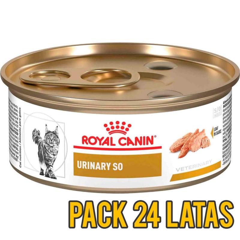 Pack 24 latas Royal Canin Urinary SO felino