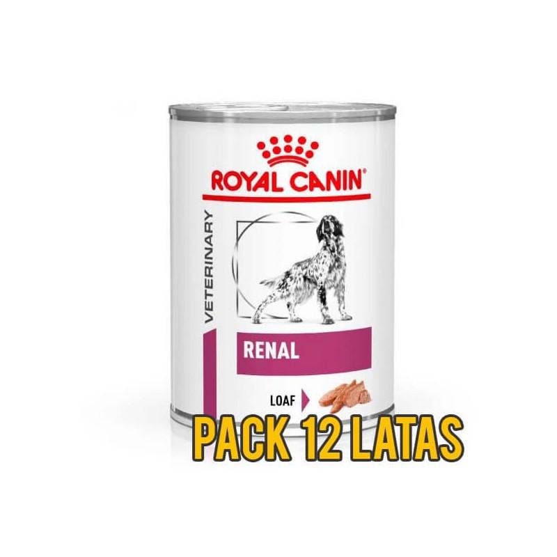 Pack 12 Latas Royal Canin Renal Canino