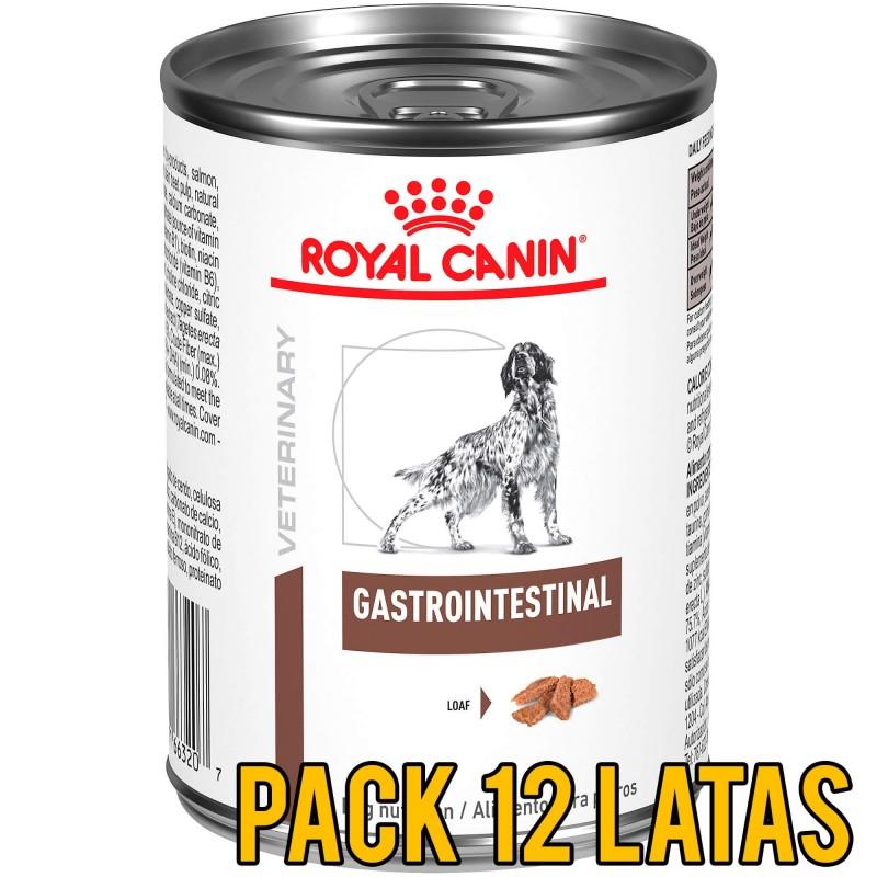 Pack 12 Latas Royal Canin GastroIntestinal Canino