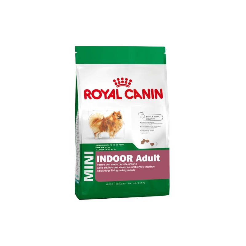 Royal Canin Mini Indoor 2,5kg ALIMENTO PARA PERROS