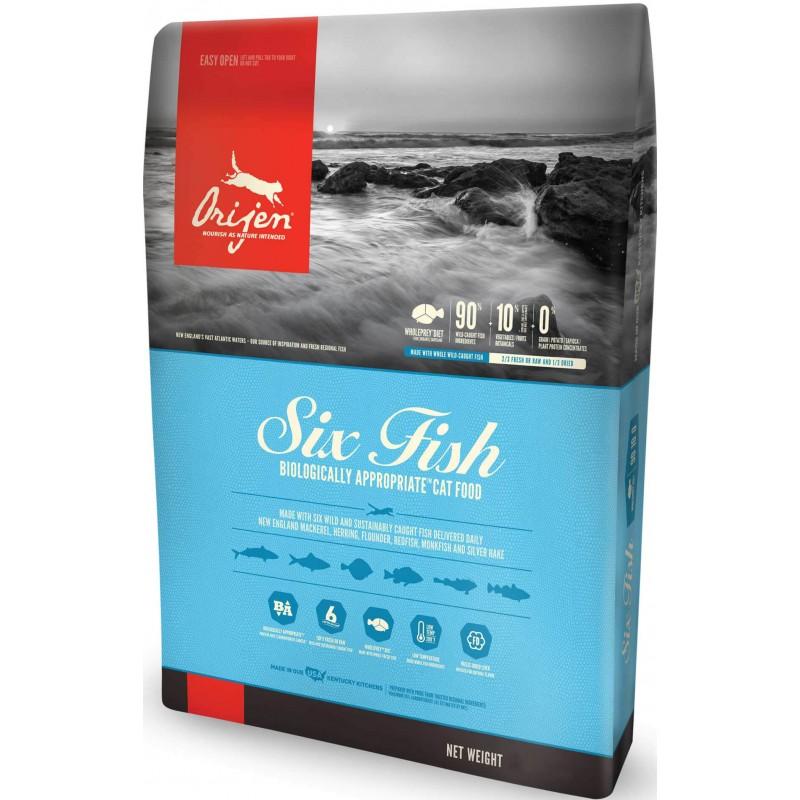 Orijen Six Fish Gatos 5,45kg