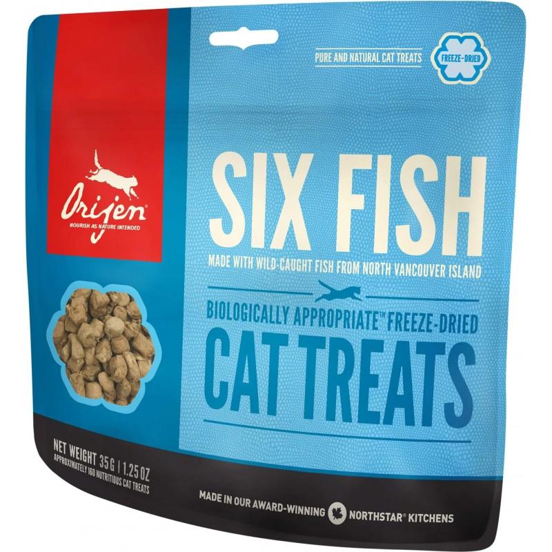 Orijen Six Fish Cat Treats 35g