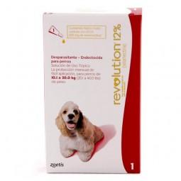 Revolution 12% Perros de 10 a 20Kg Antiparasitarios