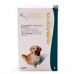 Revolution 12% Perros de 20 a 40Kg Antiparasitarios