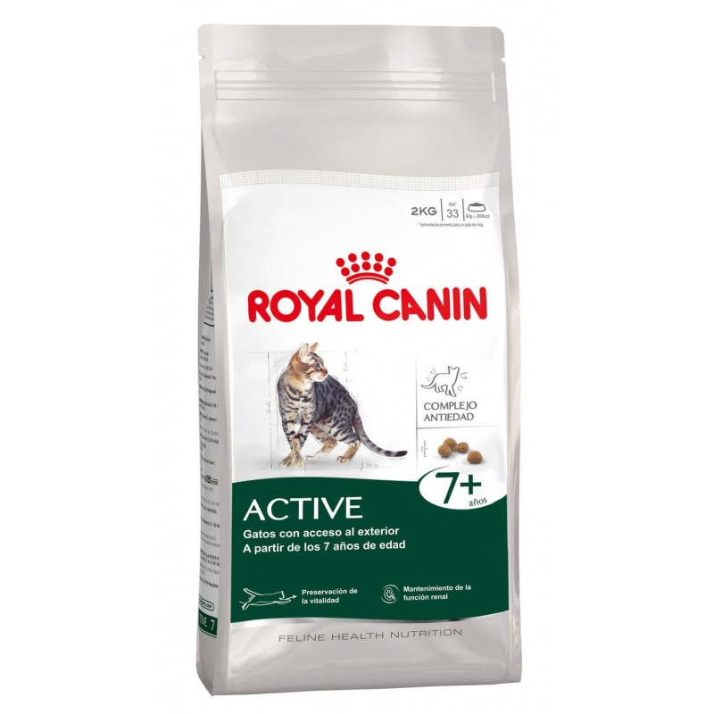 Royal Canin Active 7+ 2kg ALIMENTO PARA GATOS