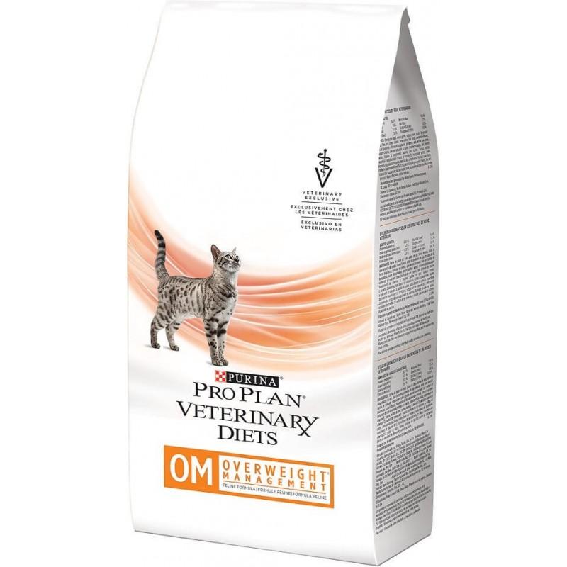 ProPlan Veterinary OM Overweight 1,5kg Management Felino Alimentos medicados Gatos