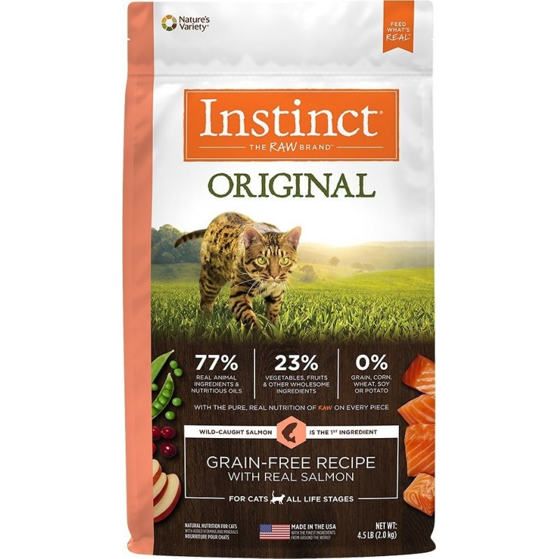 Instinct Salmon para Gatos 2Kg