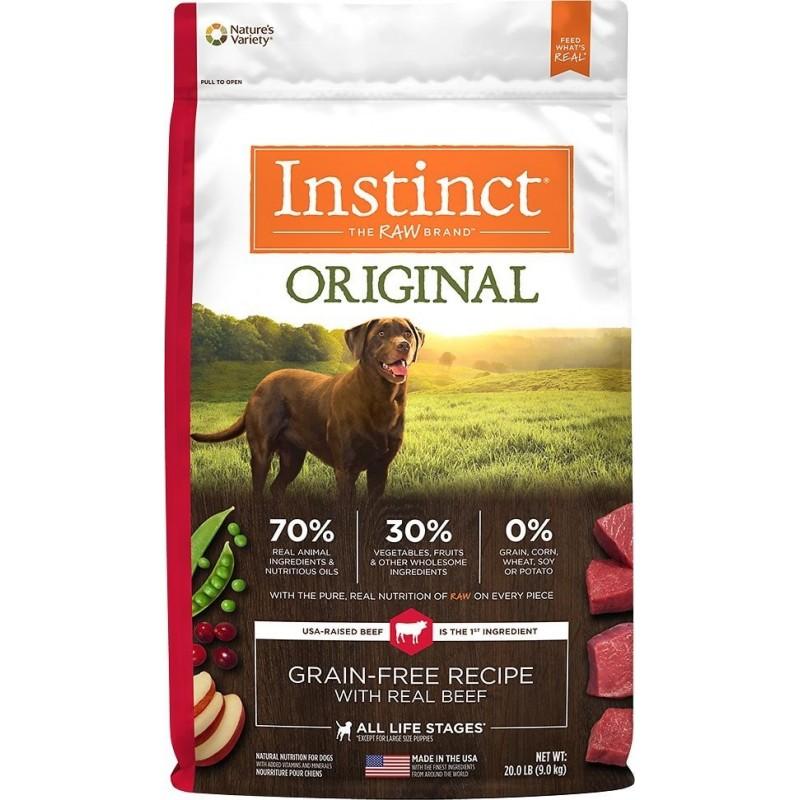 Instinct Carne de Res y Cordero 1,8Kg
