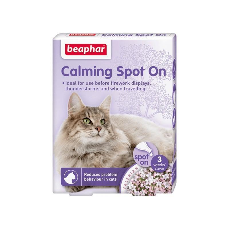 Calming Spot On Beaphar para Gatos Entrenamiento y Comportamiento