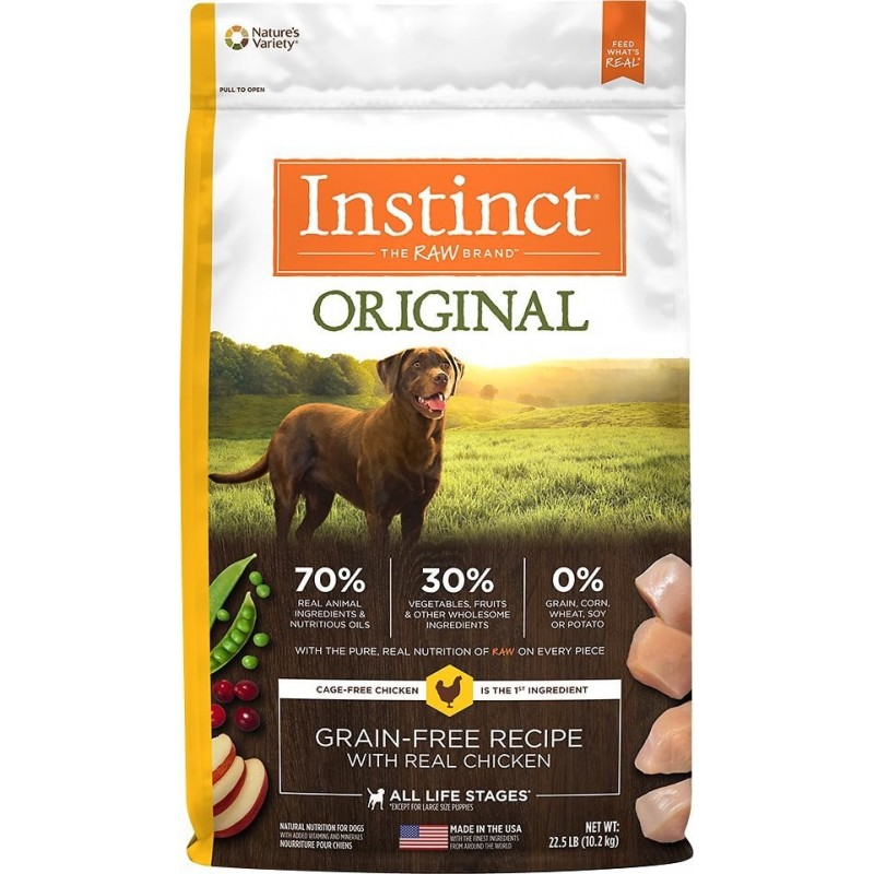 Instinct Canino Pollo 10,2Kg ALIMENTO PARA PERROS