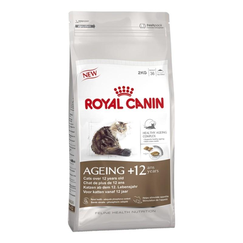 Royal Canin Ageing 12+ 2kg ALIMENTO PARA GATOS