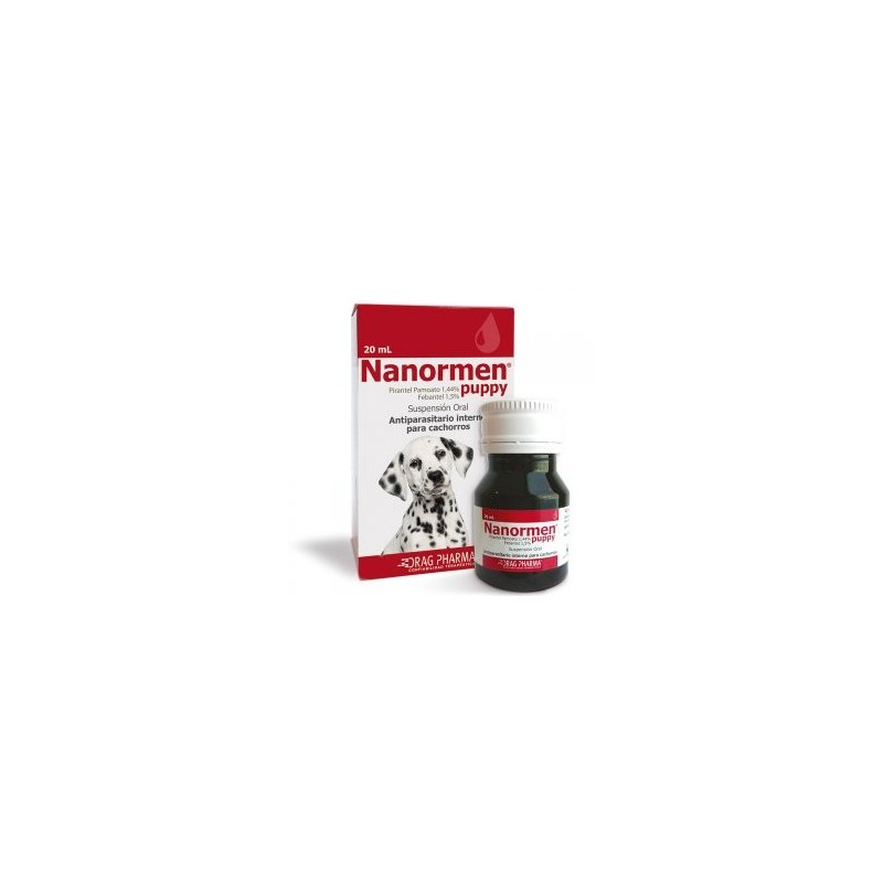 Nanormen Puppy 20ml Antiparasitarios internos
