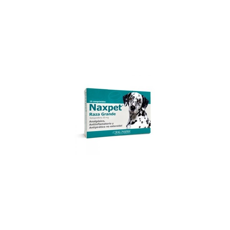 Naxpet Raza Grande Comprimidos 30mg Medicamentos