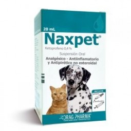 Naxpet 20ml Suspension Oral