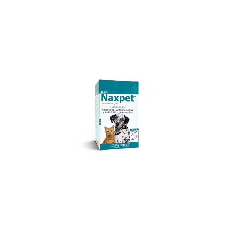 Naxpet 20ml Suspension Oral Medicamentos