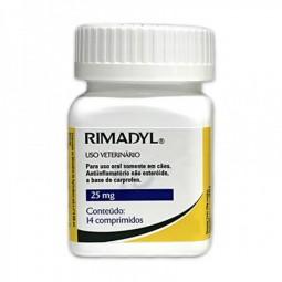 Rimadyl 25mg - 14 Comprimidos