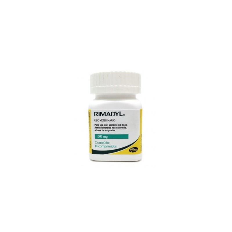 Rimadyl 100mg - 14 Comprimidos Medicamentos