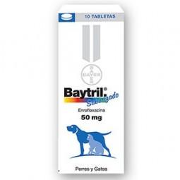 Baytril 50mg Comprimidos Saborizados