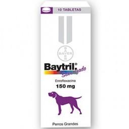 Baytril 150mg Comprimidos Saborizados