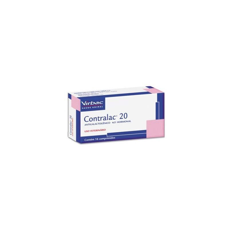 Contralac 20 - Comprimidos Medicamentos