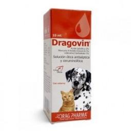 Dragovin 10ml Solución Ótica Medicamentos