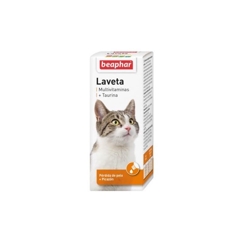 Laveta Taurina 50ml para Gatos Medicamentos
