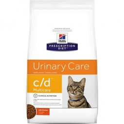 Hills c/d Urinary Care Multicare Feline 3,8Kg