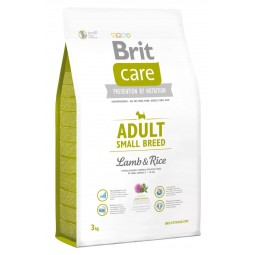 Brit Care Adult Small Breed Cordero 3Kg ALIMENTO PARA PERROS