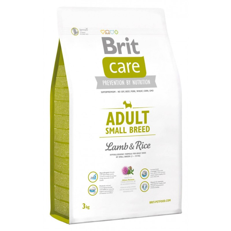 Brit Care Adult Small Breed Cordero 3Kg