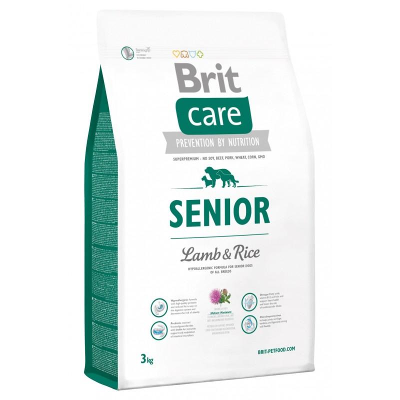 Brit Care Senior Cordero y Arroz