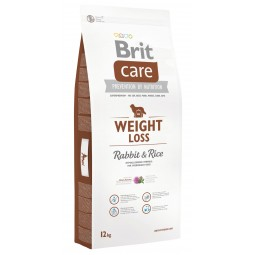 Brit Care Weight Loss Conejo y Arroz 12Kg
