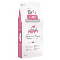 Brit Care Grain Free Puppy Salmon 12Kg Cachorros