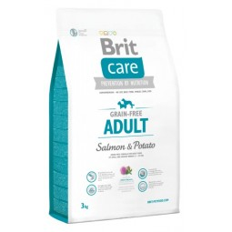 Brit Care Grain Free Adult Salmon 3Kg Alimentos Grain Free