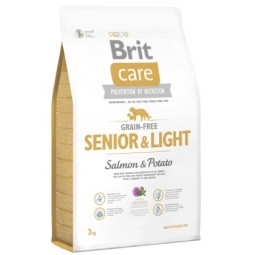 Brit Care Senior & Light Salmon 3Kg Alimentos Grain Free