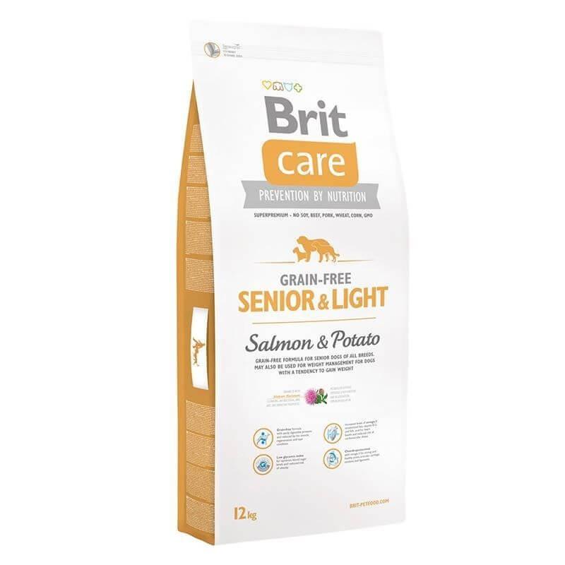 Brit Care Senior & Light Salmon 12Kg Alimentos Grain Free