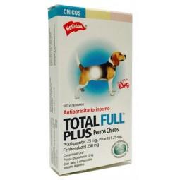 Total Full Plus Perros Chicos Antiparasitarios internos