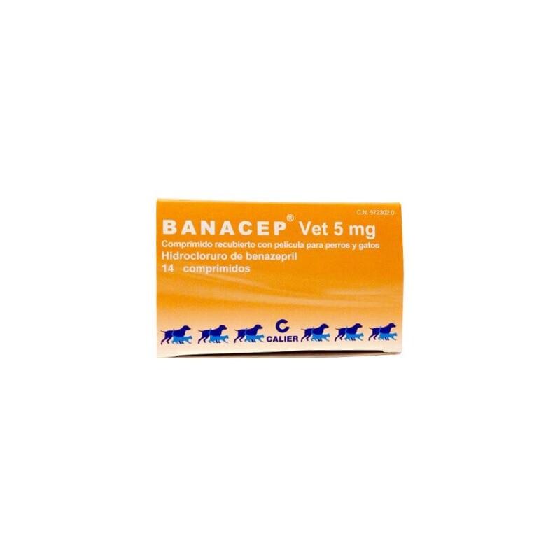 Banacep 5mg Comprimidos Medicamentos