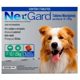 Nexgard 10 a 25kg (3 comprimidos)