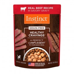 Instinct Pouch Canino Carne 85g Alimentos Holísticos