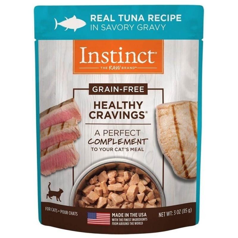 Instinct Pouch Felino Atun 85g Alimentos Holísticos