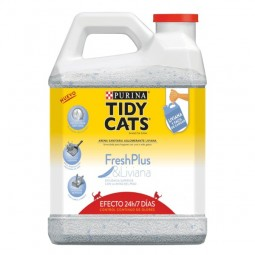 Arena Bidón TIDY CATS Fresh Plus 3,86Kg Arenas Sanitarias