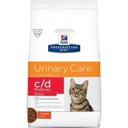 Hills c/d Multicare Urinary Stress 1,81kg Alimentos medicados Gatos