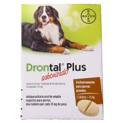 Drontal Plus 35kg Antiparasitarios internos