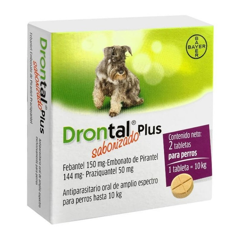 Drontal Plus 10kg (2 comprimidos)