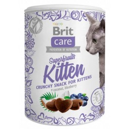 Brit Care Cat Snack Superfruits Kitten 100g Snack y Premios