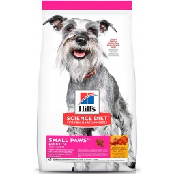 Hills Adult 7+ Small Paws Mature 2,04kg ALIMENTO PARA PERROS
